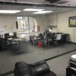 Custom Glass Office Wall Divider Mission Valley