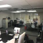 Glass Office Wall Divider Mission Valley San Diego