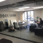 Install Glass Office Partition Mission Valley