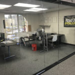 Mission Valley Glass Office Partition Install