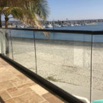 One Half Inch Tempered Glass Supplied Mission Bay