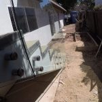 Glass Stair Railing Install Del Mar