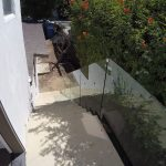 One Half Inch Glass Railing Del Mar