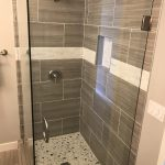 Frameless Glass Shower Enclosure Installation Ocean Beach