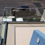 Glass Railing With Aluminum Base Shoe