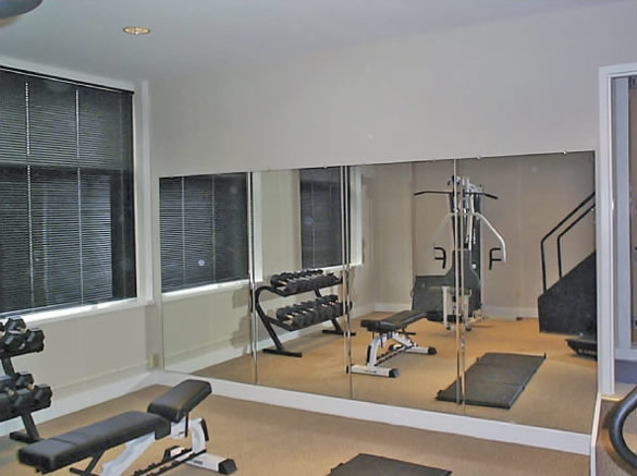 Exercise Room Mirror