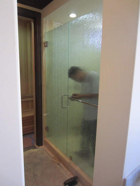 Privacy Glass Rain Glass Enclosure Patriot Glass And