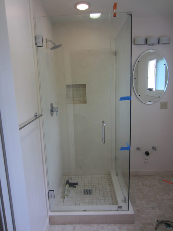 90 Degree Shower Enclosure Patriot Glass And Mirror