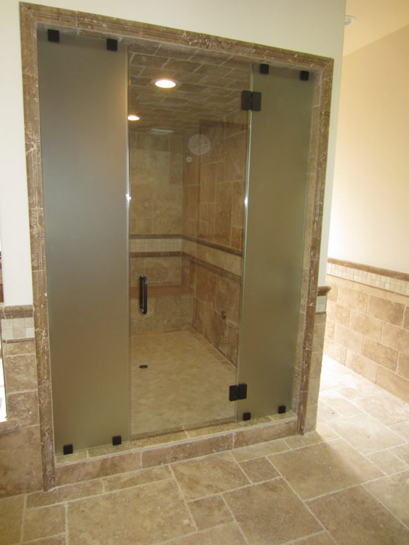 Steam Shower Custom 1 2 Inch Glass Patriot Glass And