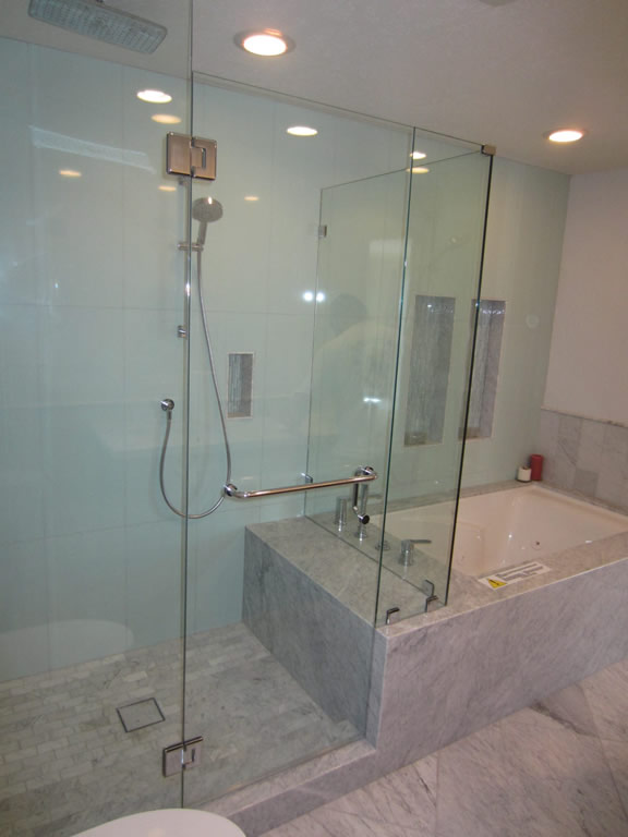 3 8 Glass Shower Enclosure Installation Patriot Glass