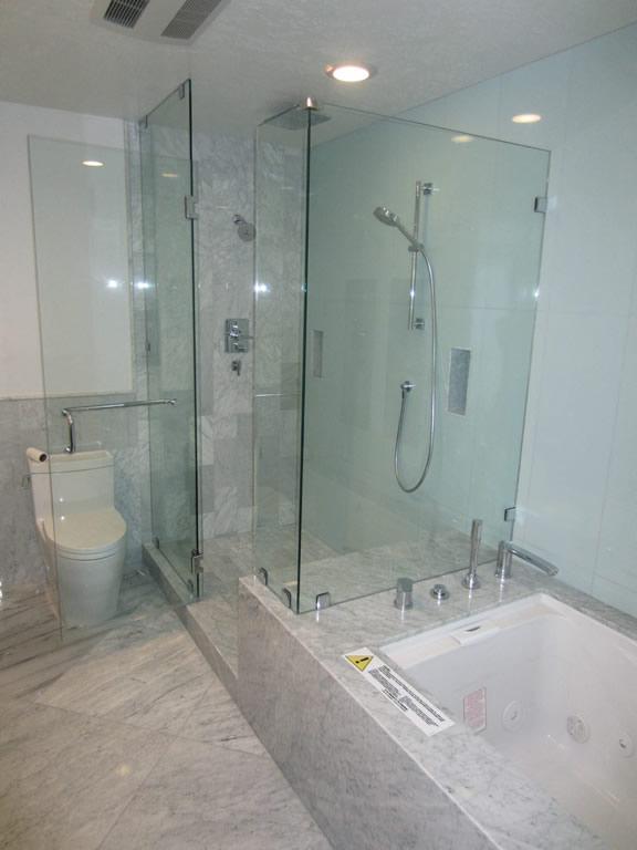 3 8 Glass Shower Enclosure Installation Patriot Glass