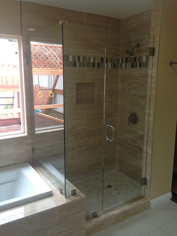 North Park San Diego Frameless - Patriot Glass and Mirror ...