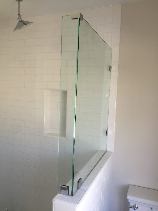 Custom Three Eights Glass Shower Patriot Glass And