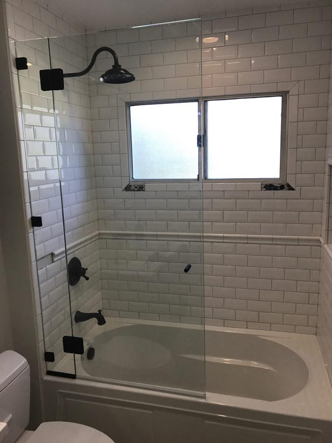 Frameless Gl Shower Enclosure Over Tub Patriot